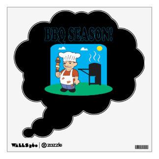 BBQ Season 2 Wall Sticker