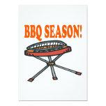 "BBQ Season 5"" X 7"" Invitation Card"