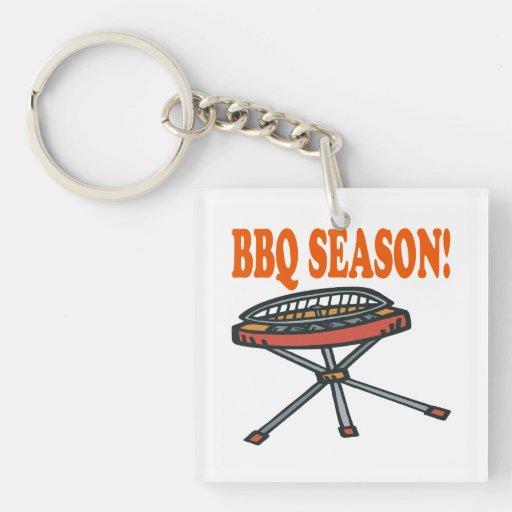 BBQ Season Acrylic Key Chain