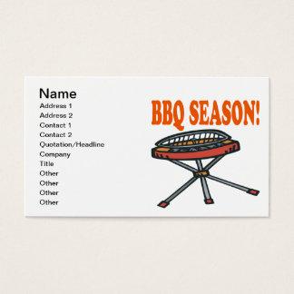 BBQ Season Business Card