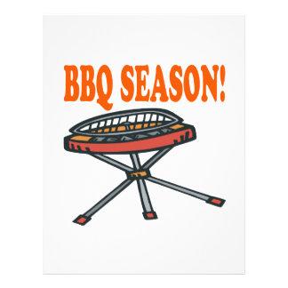 BBQ Season Flyer