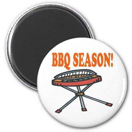 BBQ Season Fridge Magnet