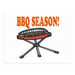 BBQ Season Postcard