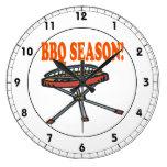 BBQ Season Wall Clocks