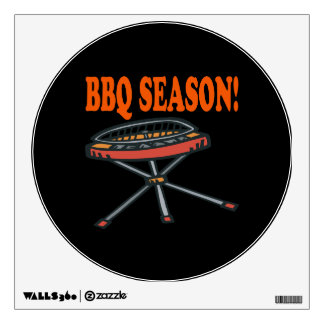 BBQ Season Wall Decal