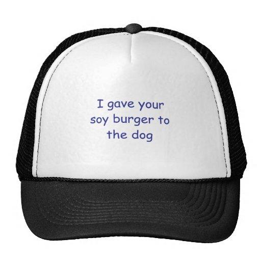 BBQ Soy Burger Trucker Hats