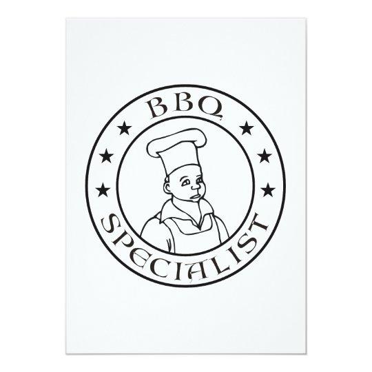 BBQ Specialist Card