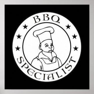 BBQ Specialist Poster