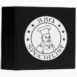 BBQ Specialist Vinyl Binder