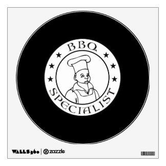 BBQ Specialist Wall Sticker
