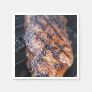 BBQ Steak Disposable Napkins