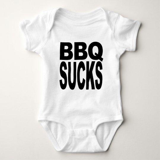 BBQ Sucks Baby Bodysuit