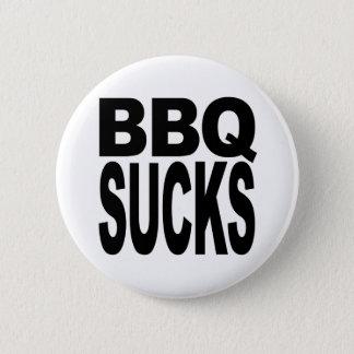 BBQ Sucks Pinback Button