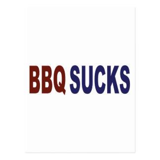 BBQ Sucks Postcard