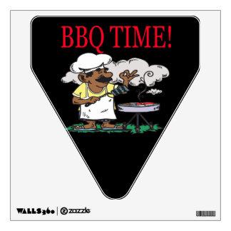 BBQ Time 1 Wall Sticker