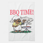 BBQ Time Hand Towel