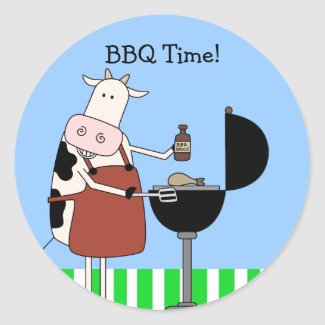 BBQ Time!!! sticker
