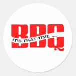 BBQ Time Sticker