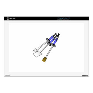 """BBQ Tools 17"""" Laptop Decal"""