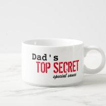 BBQ Top Secret Sauce Bowl for Dad