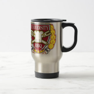 BBQ University Travel Mug