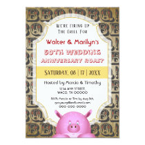 BBQ Wedding Anniversary Pig Roast Party Invite