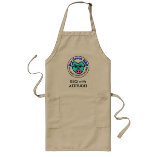 BBQ with ATTITUDE! Long Apron