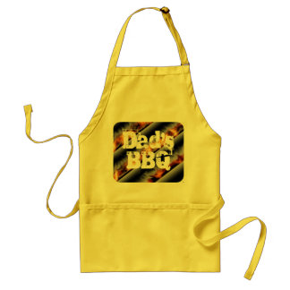 BBQ with Flames Apron