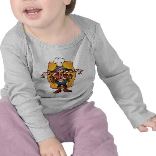 BBQsheriff Camisetas