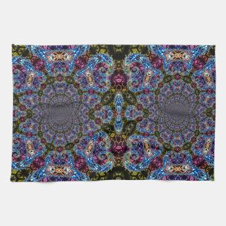 BBQSHOES: Fractal Vortex Digital Art 1020HTC Hand Towels