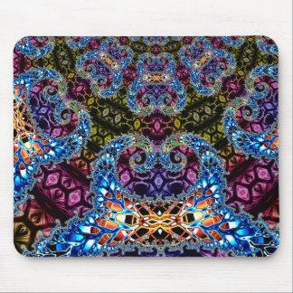 BBQSHOES: Fractal Vortex Digital Art 1020HTC Mouse Pad