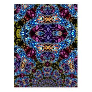 BBQSHOES: Fractal Vortex Digital Art 1020HTC Postcard