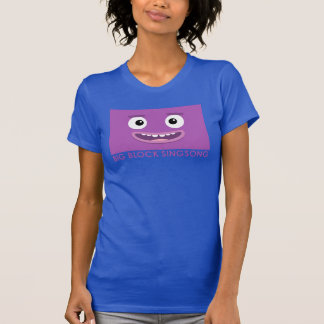 BBSS aquí vamos la camiseta de las mujeres Playeras