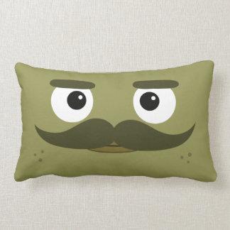 "BBSS Moustachios #1 Pillow (21""x13"")"