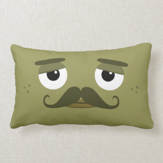 "BBSS Moustachios #2 Pillow (21""x13"")"