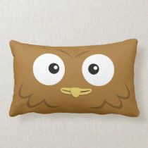 "BBSS Owl Pillow (21""x13"")"