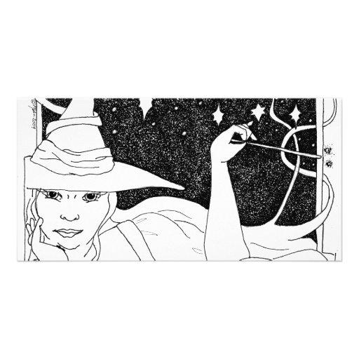 BBW Big Beautiful Witch Photo Cards