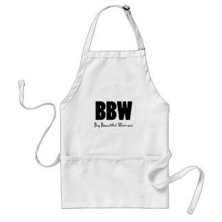 BBW Big Beautiful women Adult Apron