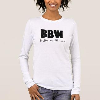 BBW Big Beautiful women Long Sleeve T-Shirt