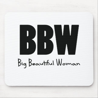 BBW Big Beautiful women Mouse Pad
