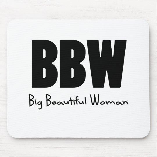 BBW Big Beautiful women Mouse Pad