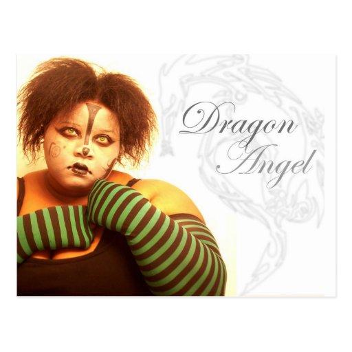 BBW Dragon Angel Postcard