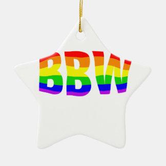 BBW Pride Ceramic Ornament