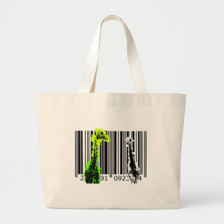 bc02 Bar Code Art Design Vector Fun Color Bag