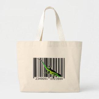 bc07 Bar Code Art Design Vector Fun Color Tote Bag