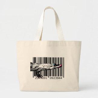 bc08 Bar Code Art Design Vector Fun Color Bag