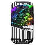 bc10 Bar Code Art Design Vector Fun Color Samsung Galaxy SIII Cover