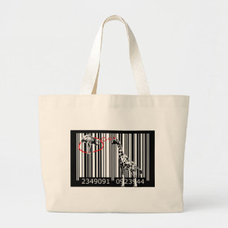 bc17 Bar Code Art Design Vector Fun Color Tote Bag