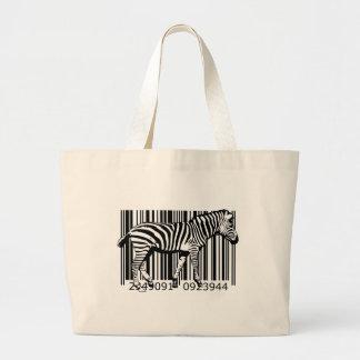 bc19 Bar Code Art Design Vector Fun Color Bag