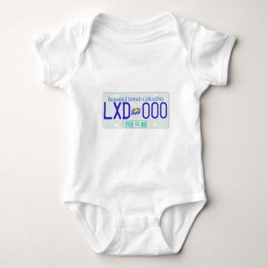 BC89 BABY BODYSUIT